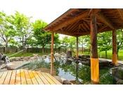 四季の自然を感じながらの露天風呂