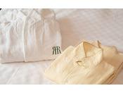 パジャマ・バスローブ イメージ(※ご用意の無いお部屋もございます)
