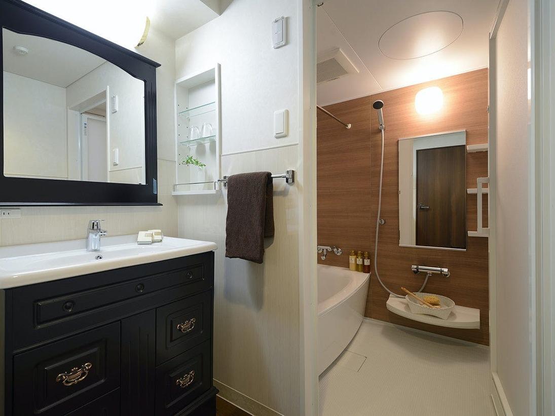 13階和洋室のユニットバス(一例)