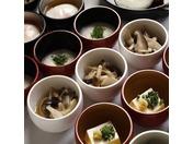 ・朝食・ 味めぐり小鉢横丁3