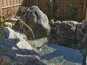 楸の間:露天風呂