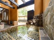 椋の間:露天風呂