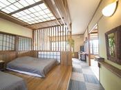 梢の間:寝室