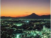 シティービュー(富士山側)夕景イメージ