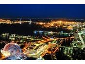 ベイブリッジビュー(観覧車側)夜景イメージ