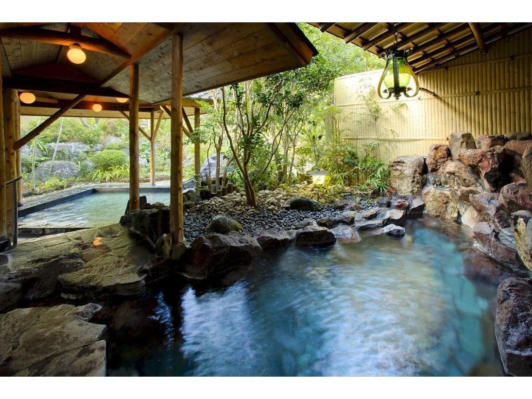 大浴場 露天風呂「朱鷺の湯」