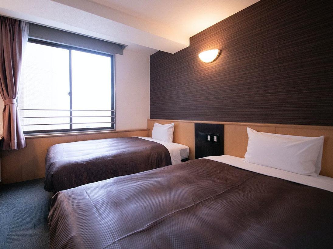 「本館」◆スタンダードツイン◆16平米のツインルーム