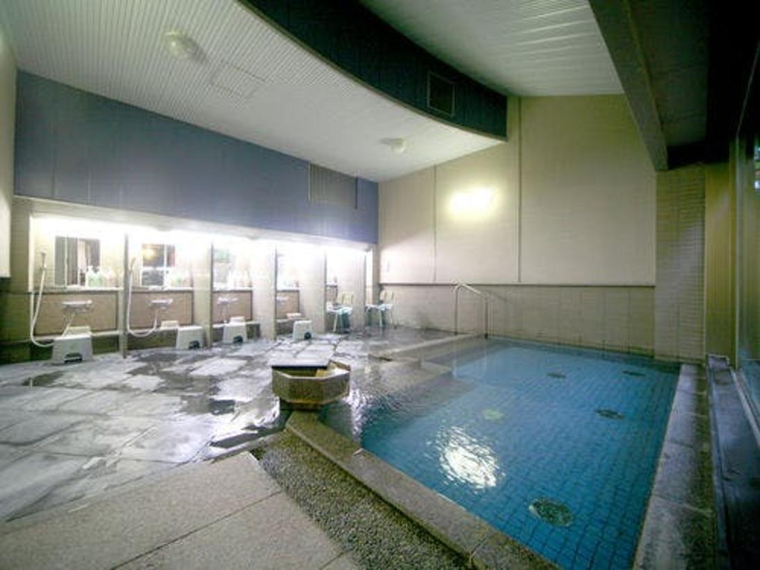 広々とした大浴場で和倉温泉の良湯をお愉しみください。