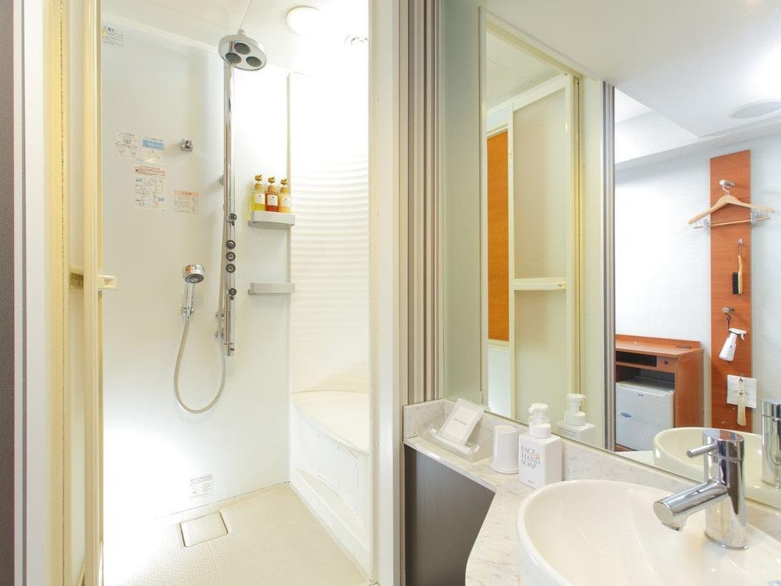 バスルーム一例(スタンダードシングル コンフォートシャワー)