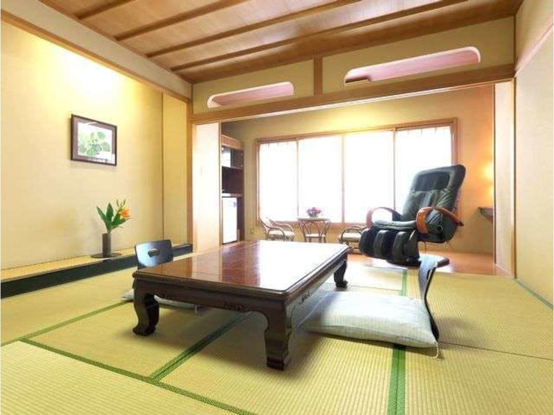 客室 ※一部マッサージ機付きのお部屋もございます