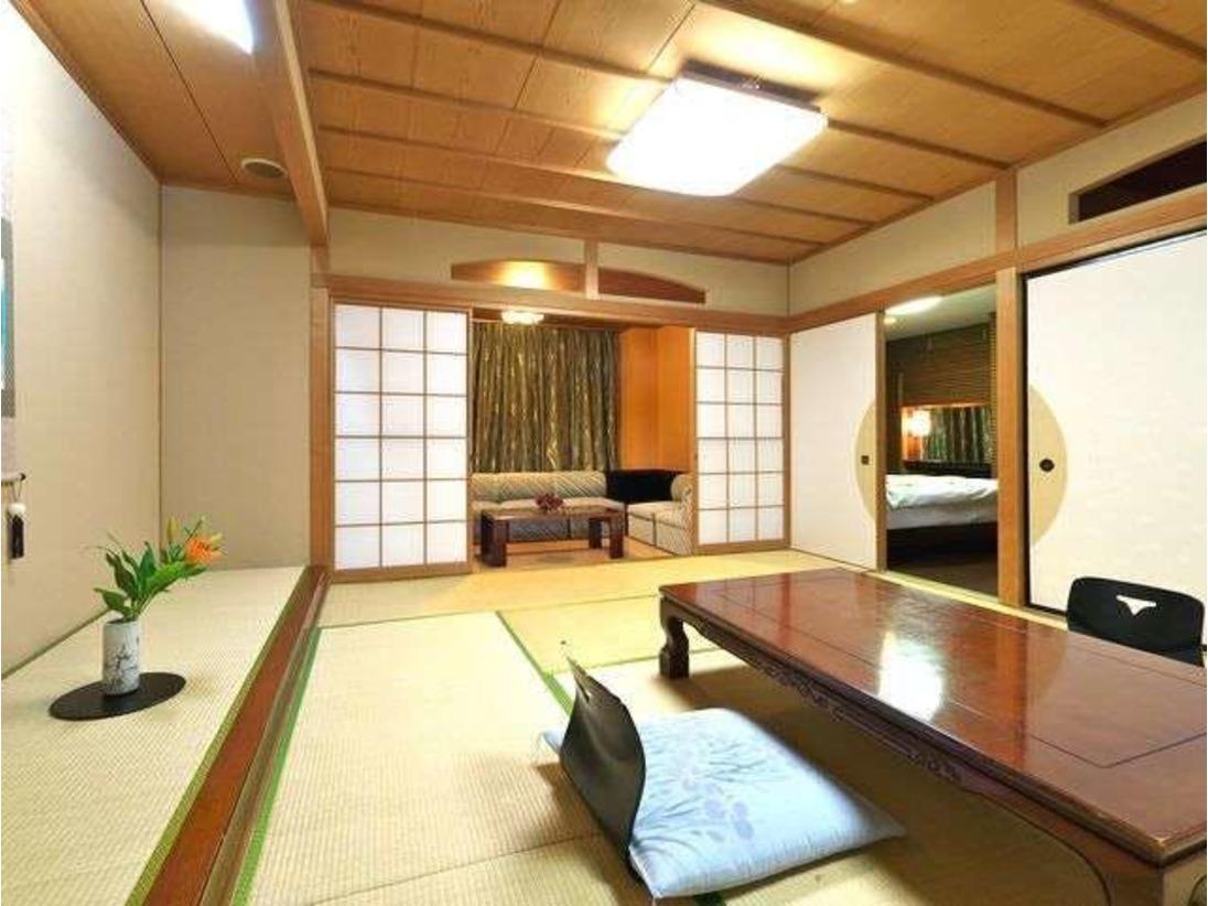 客室 ※一部ベッドをご用意したお部屋もございます