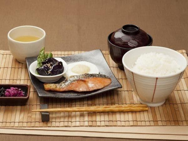和朝食 銀鮭定食