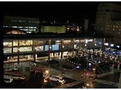 長野駅(夜景写真)