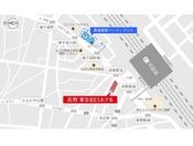 契約割引駐車場「長電長野パーキング」(自走式立体駐車場)14:00-翌12:00 1泊1,100円