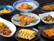 和洋ビュッフェは和食広島の食材、広島ならではのメニューも豊富にご用意。