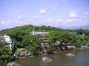 【周辺観光】千秋公園 目の前に広がる四季折々の景色