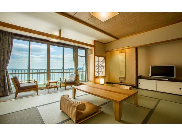 海側高層階客室