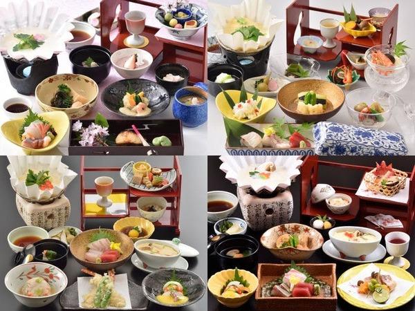 京都の四季を感じる本格京会席料理です。