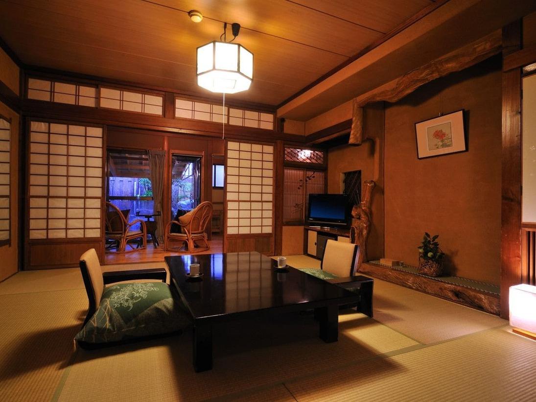 和室8畳 純和風の趣のある落ち着いた客室