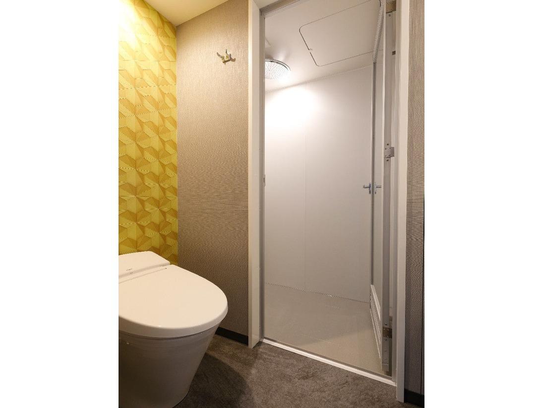 スタンダードタイプのお部屋はシャワーのみになります。