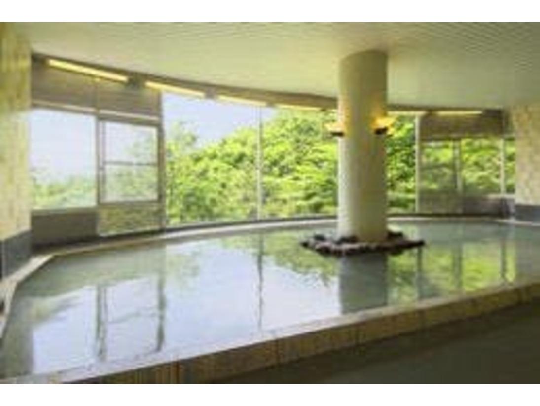 温泉浴場/単純硫化水素泉・硫黄含 -白濁湯-