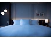 上質な眠りへと誘うオリジナル仕様のベッドで、ぐっすりとお休みください。