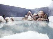 【大浴場】敷地内には2つの自家源泉