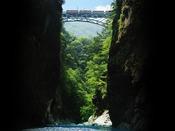 【夏の黒部峡谷鉄道】涼やかな夏の休暇を。日本一深いV字峡「中部山岳国立公園 黒部峡谷」駅まで徒歩7分。送迎もございます。