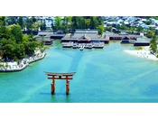 【世界遺産 宮島】ホテルより約1時間。分かりやすい簡単アクセスでお越しいただけます。
