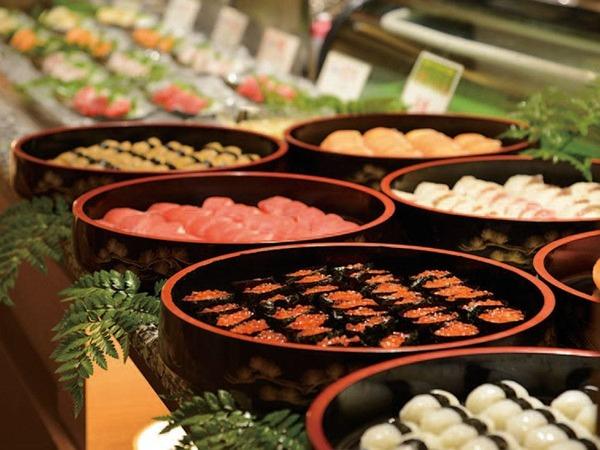 *鮮度抜群のお寿司もご提供しております