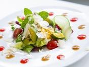 旬のお野菜のサラダ仕立て