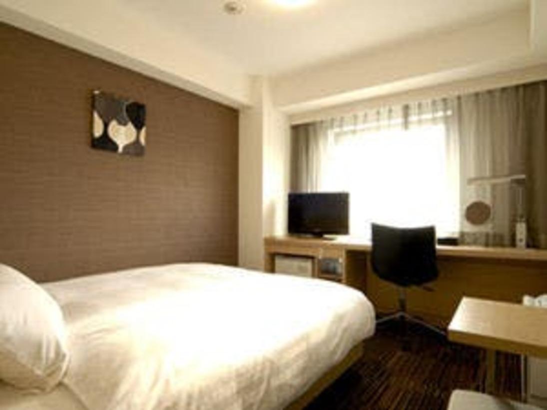 【モデレートダブル】18.2平米 154cmのゆったりサイズベッド。2人の距離が近づくお部屋♪