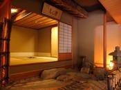【貴賓室】隣には茶室がありますので静けさを保っています。