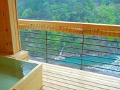【貴賓室】14階からのダイナミックな峡谷美が望めます。