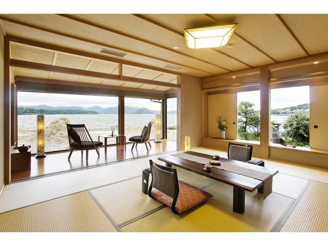 ◆特別室☆港町小町スイートDX10+6畳タイプ目の前は日本海一望