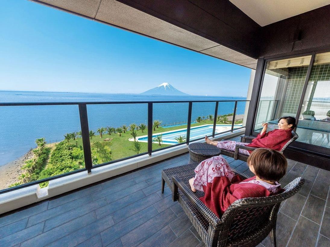 *【客室:貴賓室(一例)】最上級のおくつろぎと贅沢な海景色をひとりじめ