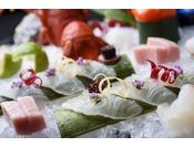 月替わりの献立 日本料理懐石御造りイメージ