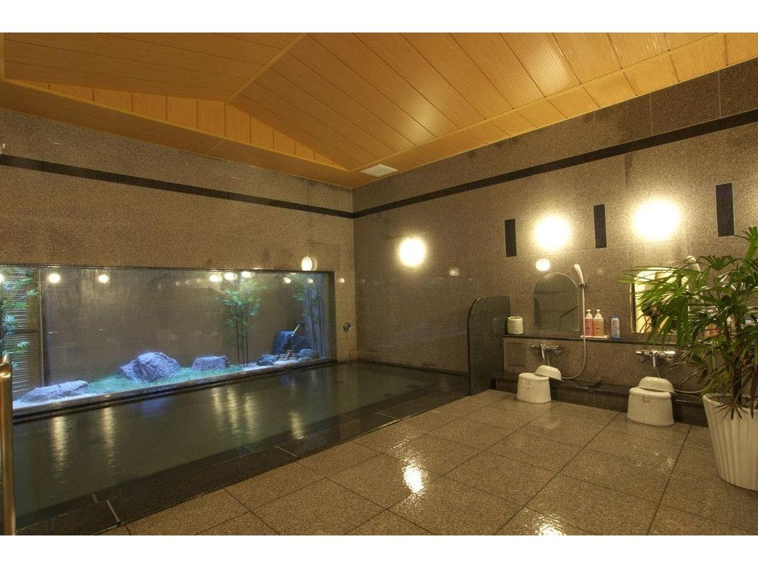本館地下1階 大浴場 ラジウム人工温泉「旅人の湯」