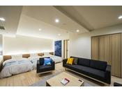 2018年3月リニューアルオープン☆マリメッコ空間の広々とした客室