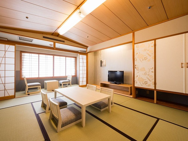 茶玻瑠の和室