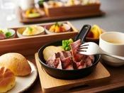 【ディナー】二食付きプラン/牛肉ステーキセット(セットメニューは、お好みのメイン料理をお選びいただけます。) ※イメージ