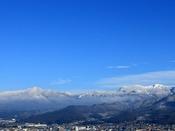 【蔵王連峰】蔵王側客室から望むことができる蔵王連峰の山々(※蔵王側客室指定料有り)