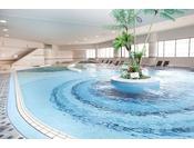 西日本最大級の屋内プール