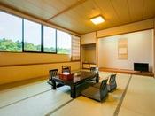 和室17.5畳の広々としたお部屋です。