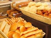 日替りパン。毎日3~4種類をご用意。