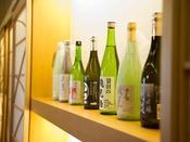 和食に合う日本酒を揃えております。