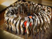 お食事イメージ 鮎の塩焼き