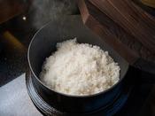 地元のお米を使っております。