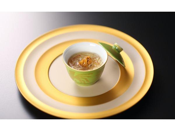 小茶碗蓬豆富玉〆
