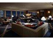クラブラウンジ(プレミアグラン宿泊者専用)本館45階、地上160mからの大パノラマをお楽しみいただけます。